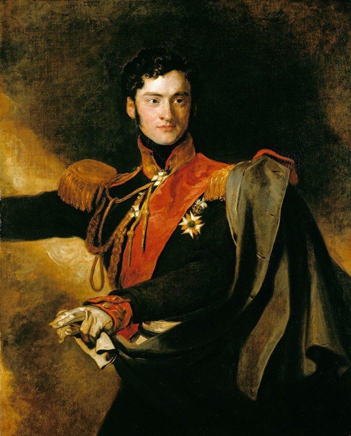 Ruský generál Alexander Černyšev