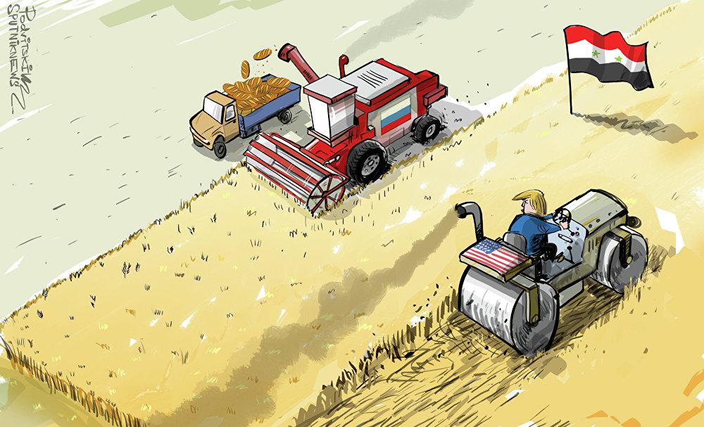 Sýrie a Rusko vs USA. Kdo vyhraje?