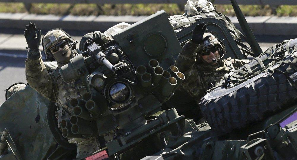 Američtí vojáci v Praze