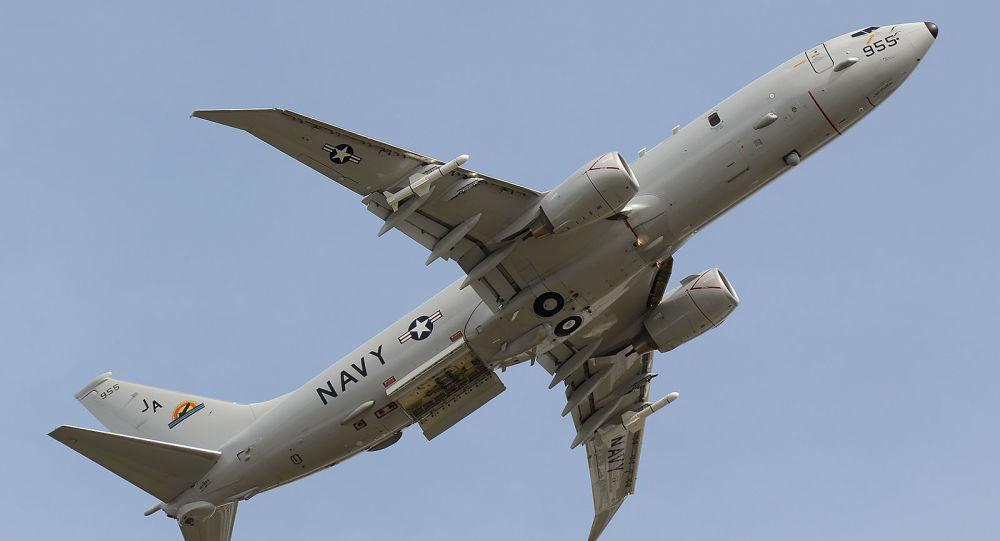 Hlídkové protilodní letadlo P-8A Poseidon. Archivní foto
