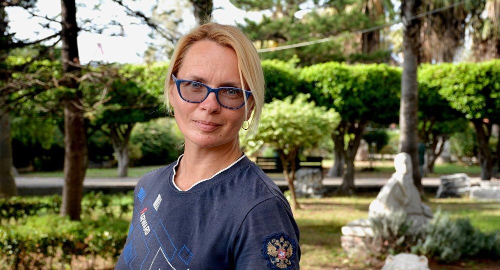 Cestovatelka Irina Sidorenko