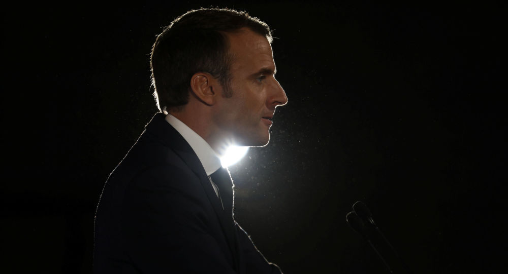 Francouzský prezident Emmanuel Makron