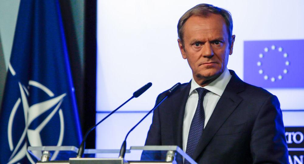 Donald Tusk v Bruselu