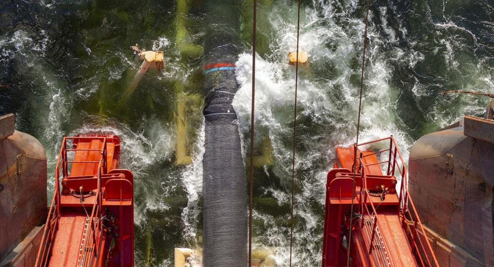Stavba plynovodu Severní proud 2