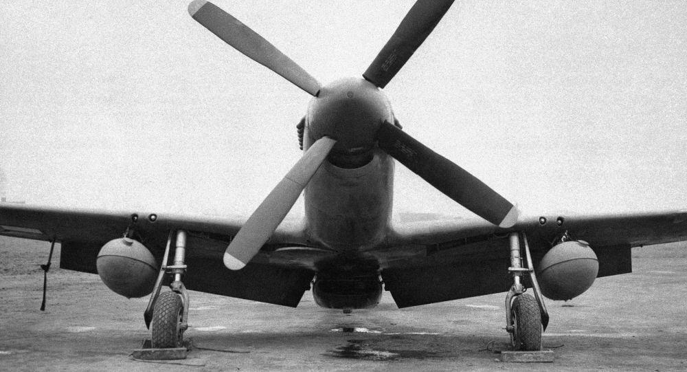 Americký stíhací letoun Mustang P-51b
