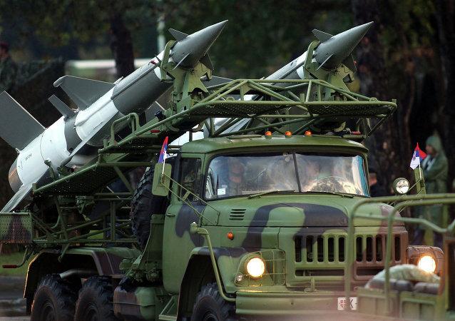 Raketový komplex S-125. Ilustrační foto