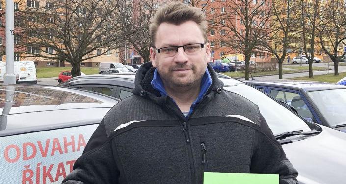 Poslanec za SPD Lubomír Volný