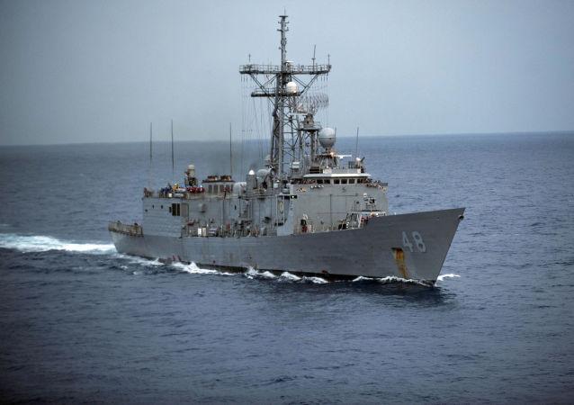 Americká fregata typu Oliver Hazard Perry