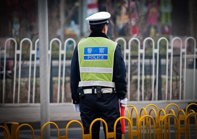 Policista v Číně