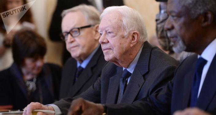 Bývalý americký prezident Jimmy Carter