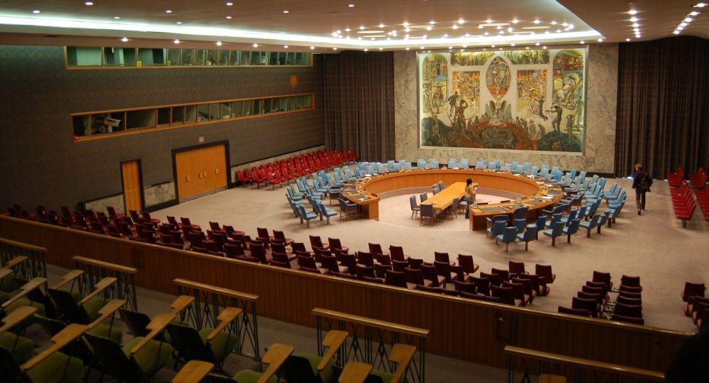 Sál zasedání Rady bezpečnosti OSN