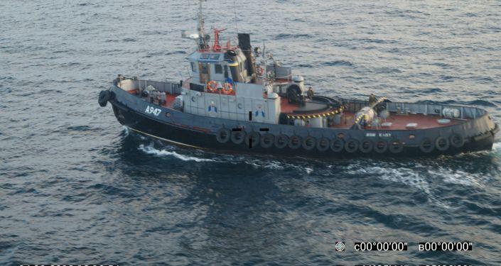 Tři lodě ukrajinského námořnictva vpluly do teritoriálních vod RF