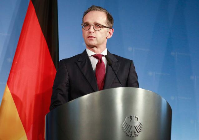 Německý ministr zahraničí Heiko Maas