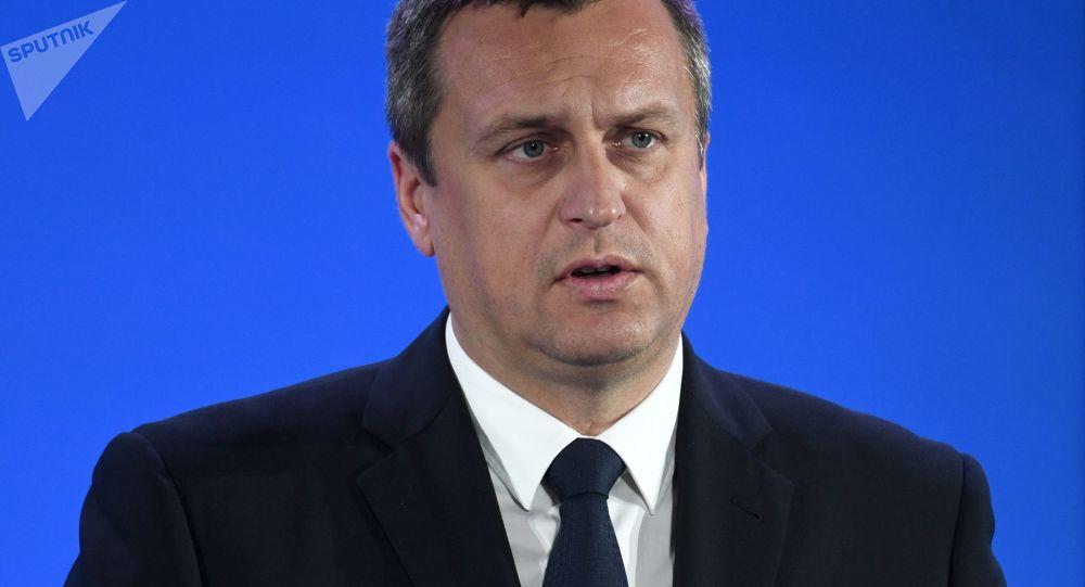 Andrej Danko, předseda Národní rady Slovenské republiky a předseda Slovenské národní strany