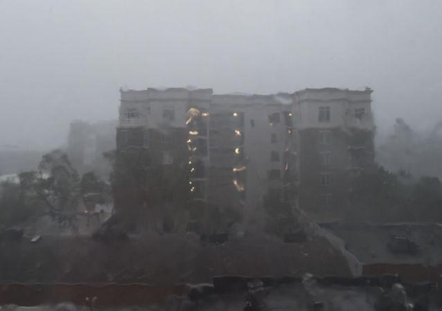 Hurikán Florence v USA