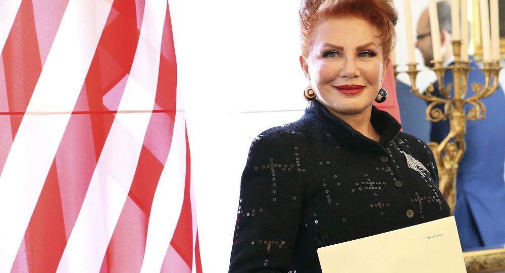 Velvyslankyně USA v Polsku Georgette Mosbacher