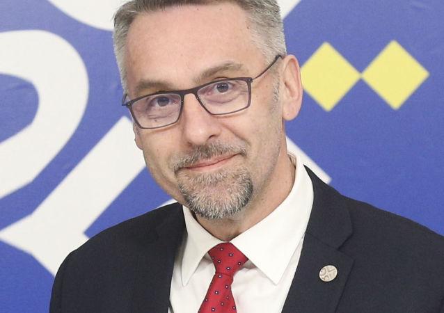 Ministr obrany Lubomír Metnar na konci ledna 2018