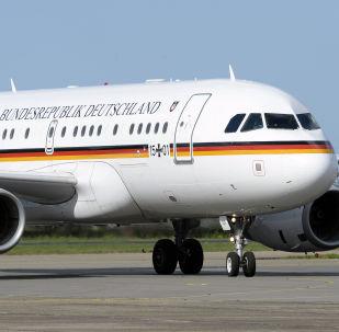 Letoun německé kancléřky Angely Merkelové