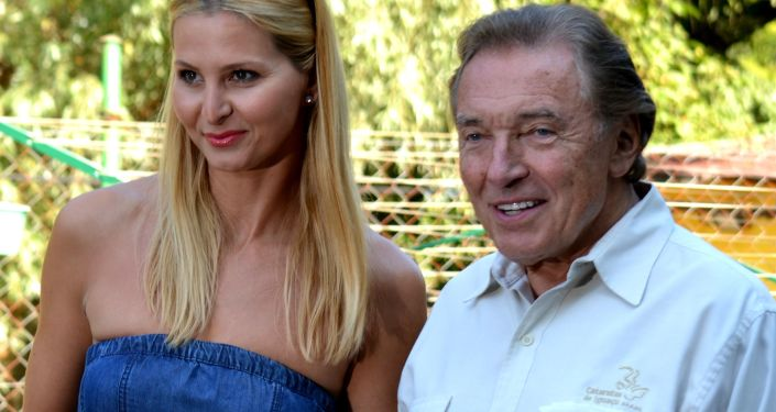 Karel Gott a jeho manželka
