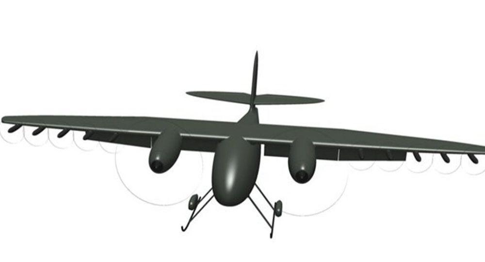 Testování ruského létajícího terénního vozu