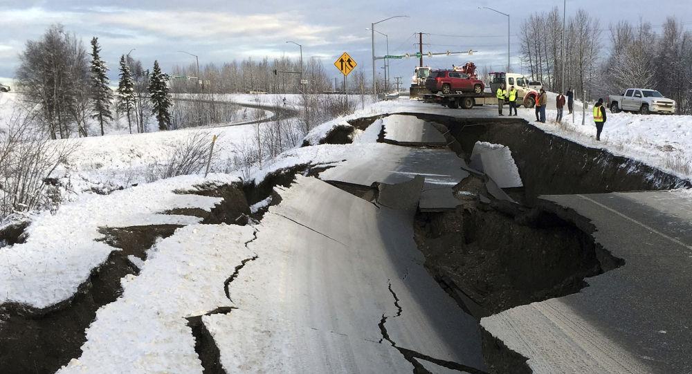 Následky zemětřesení na Aljašce