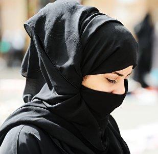 Muslimka v burce