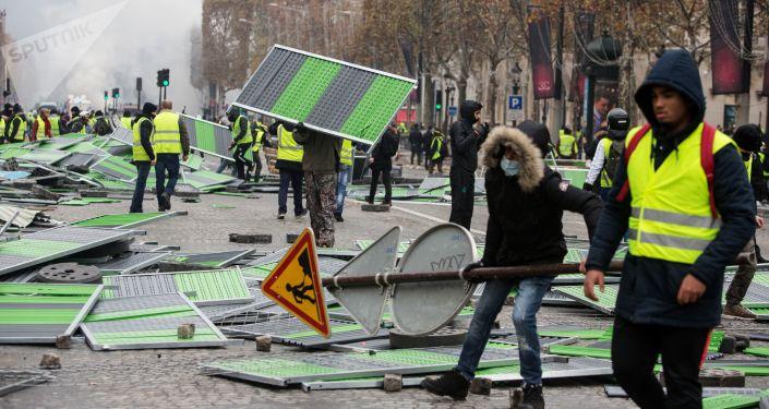 Nepokoje v Paříži