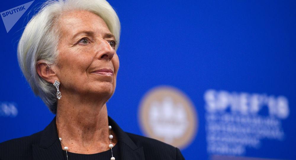Hlava MMF Christine Lagardeová