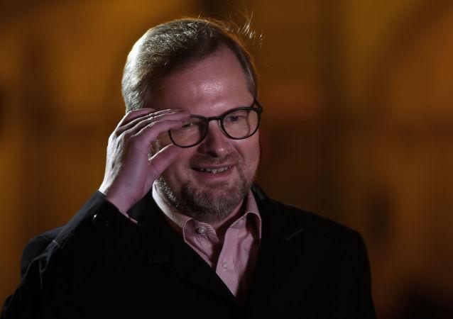 Předseda české strany ODS Petr Fiala