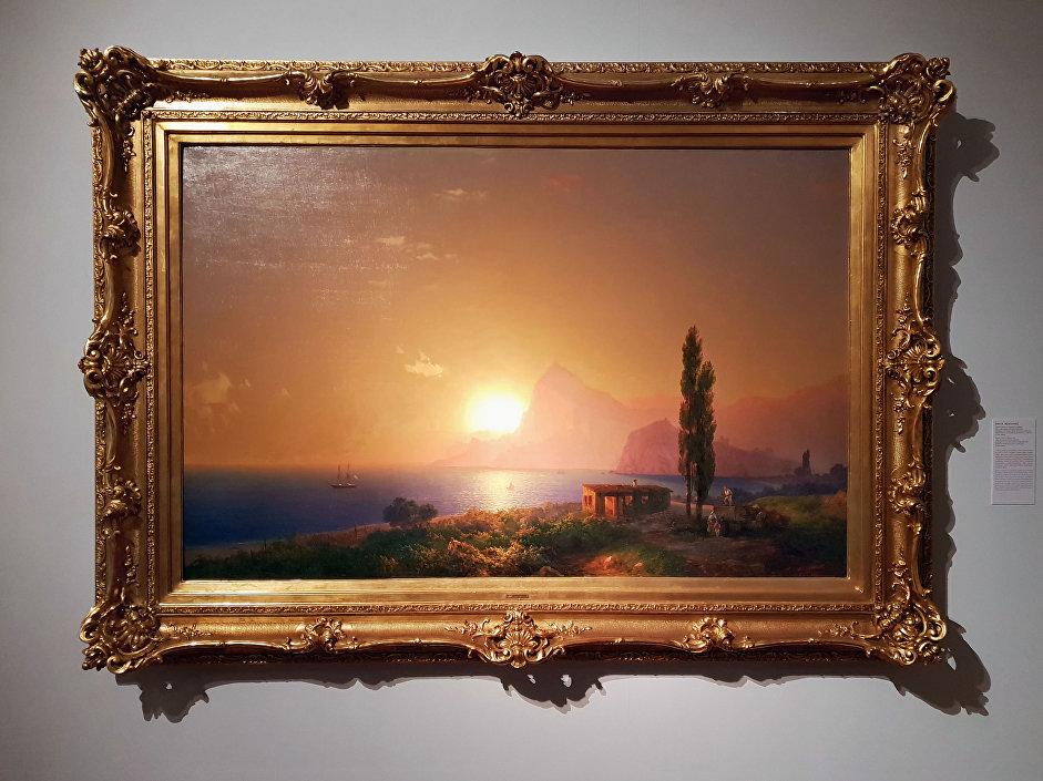 Ivan Ajvazovskij – Východ slunce na krymském pobřeží