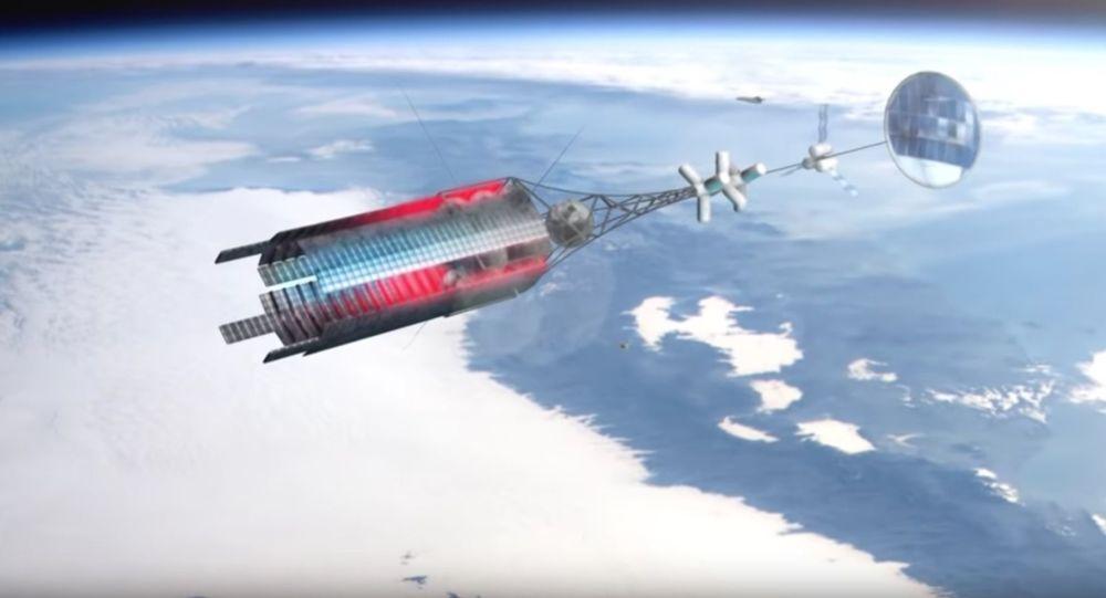 Kosmická loď s jaderným pohonem
