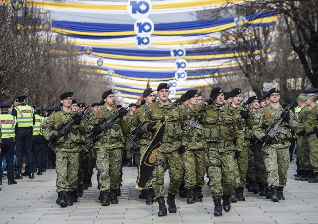 Příslušníci Ozbrojených sil Kosova