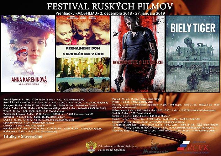 Festival ruského filmu na Slovensku