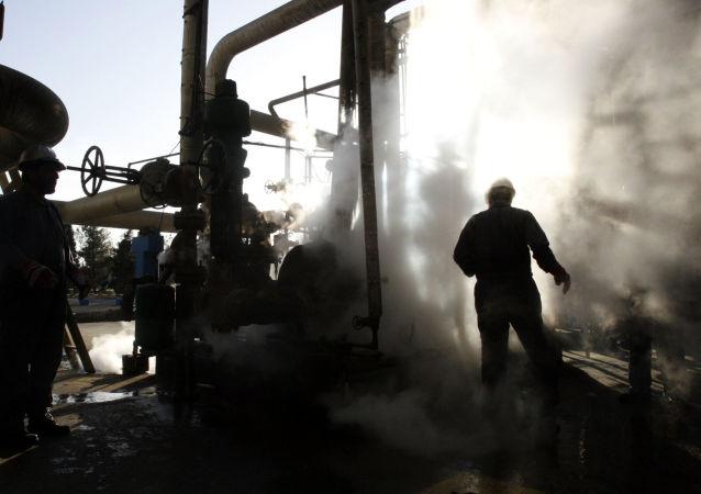 Závod na zpracování ropy v Íránu
