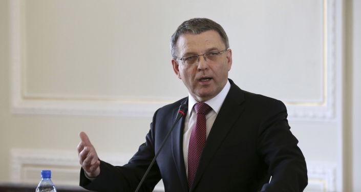 Poslanec Lubomír Zaorálek