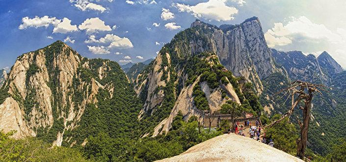 Hora Chua-šan, Čína