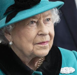 Britská královna Alžběta II