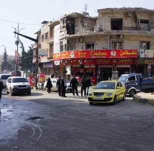 Na trhu v Idlibu. Ilustrační foto