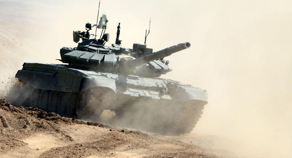 Ruský tank T-72B3