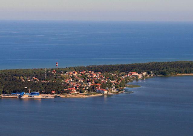 Kaliningradská oblast. Baltské moře. Ilustrační foto