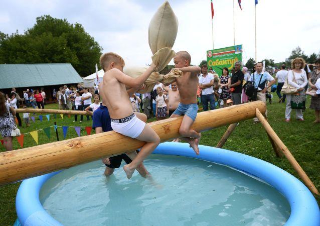 Děti na festivalu. Ilustrační foto