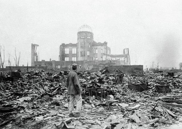 Hirošima po bombardování