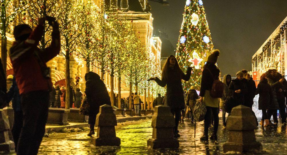 Rusé náměstí v Moskvě