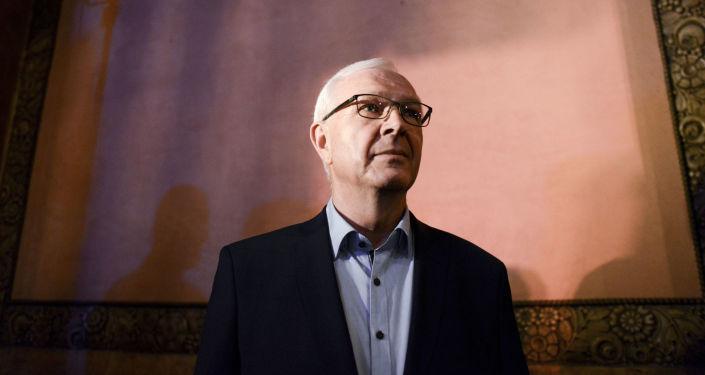 Senátor a bývalý předseda Akademie věd Jiří Drahoš