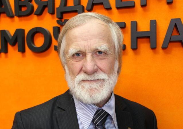 Polárník, člen Ruské geografické společnosti Gennadij Semjonovič Čeurin