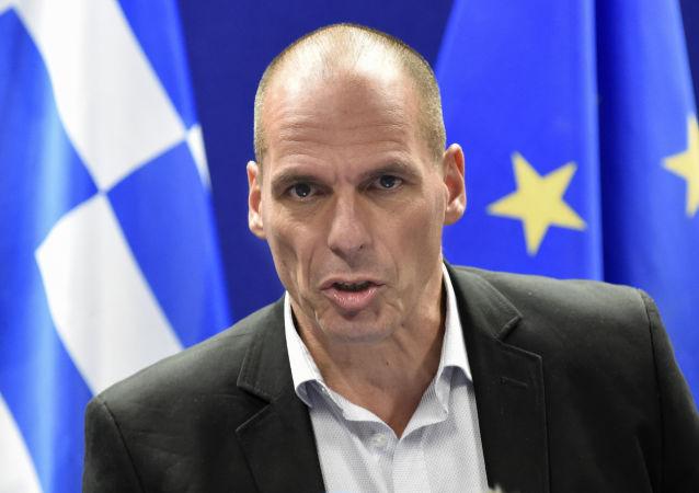 Janis Varufakis je řecký ministrem financí