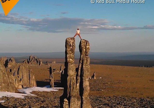 Cesta Rakušana do sibiřských skal