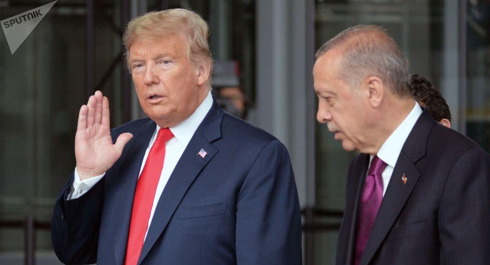 Donald Trump a Recep Tayyip Erdogan
