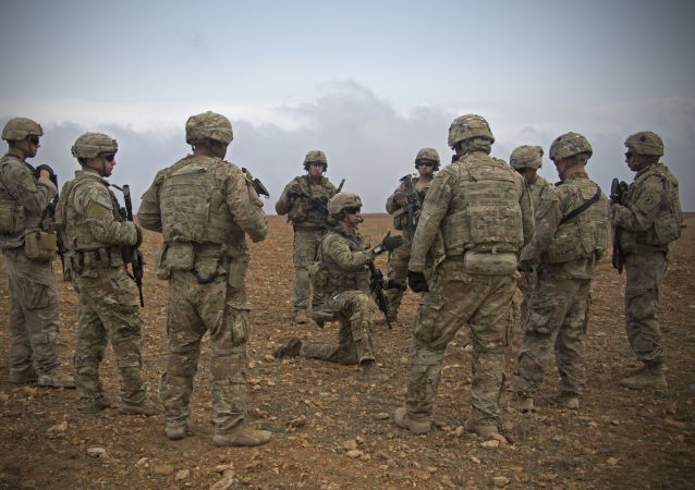 Američtí vojáci v Sýrii. Ilustrační foto