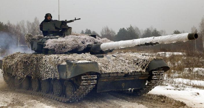 Ukrajinský voják. Archivní foto